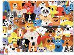 Пазл «Собаки», 72 детали