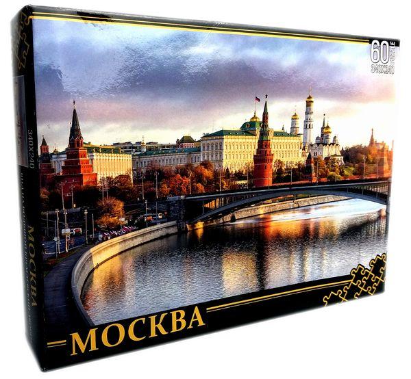 """Пазл """"Москва. Вид на Большой Кремлевский дворец"""", 60 деталей"""