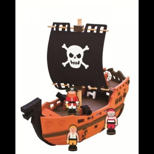 """Конструктор """"Пиратский корабль"""""""