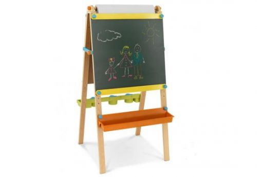 Детский двусторонний мольберт из дерева
