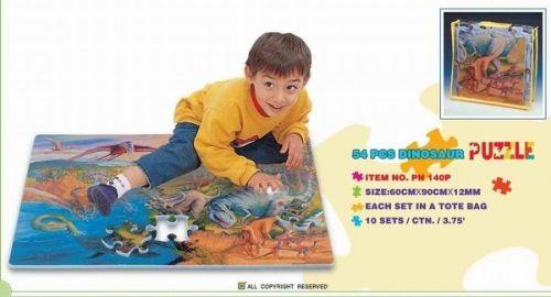 """Коврик-пазл """"Динозавры"""", 0,54 м2"""