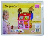 Дом кукольный картонный без контура