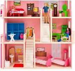 """Деревянный дом для Барби """"Нежность"""" (с мебелью)"""