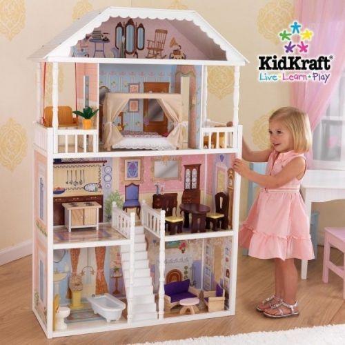 """Кукольный домик для Барби с мебелью """"Саванна"""""""