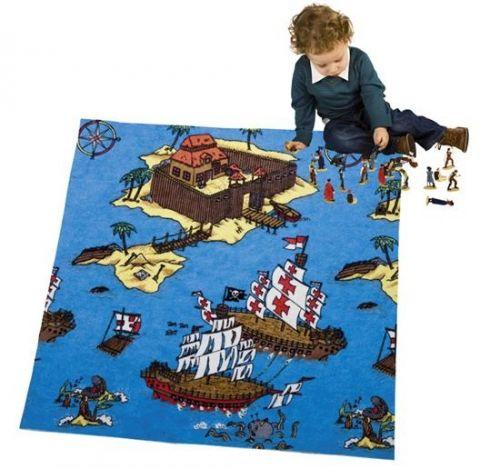 """Игровой коврик """"Пираты"""", 0,62 м2"""