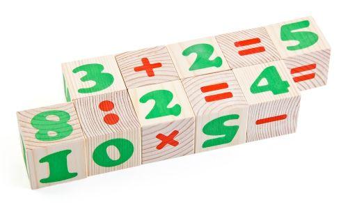 """Кубики """"Цифры"""", 12 шт"""