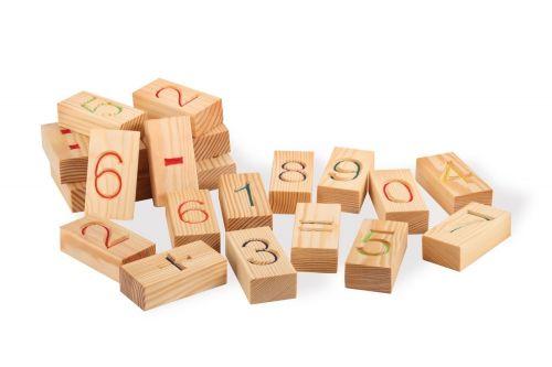 """Набор блоков с цифрами """"Арифметика"""", 22 шт. в пакете"""
