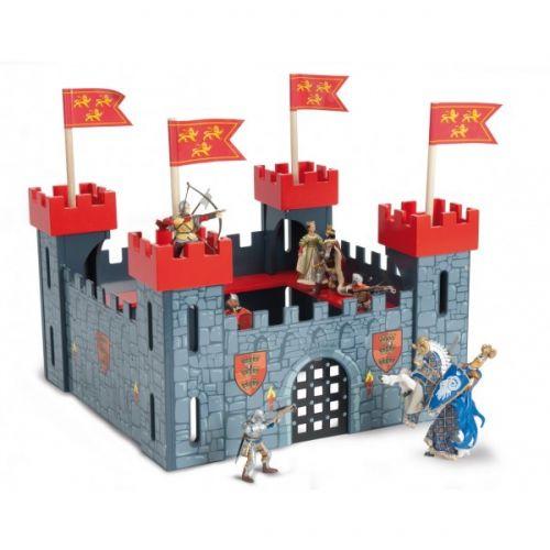 """Рыцарский замок """"Мой первый замок"""" красный"""