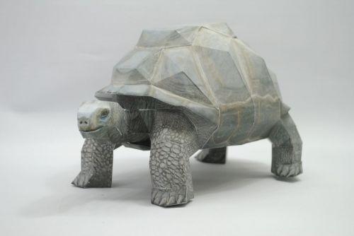 Черепаха 3Д-модель