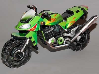 """Объёмный 3D пазл """"Мотоцикл"""""""