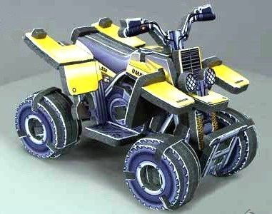 "Объёмный 3D пазл ""Квадроцикл Sport ATV"""