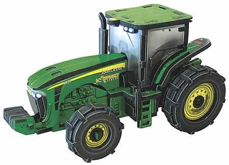 Объёмный 3D пазл Трактор John Deere 8420