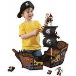 """Игровой деревянный набор """"Пиратский корабль"""""""