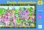 Пазл на наблюдательность «Принцессы», 54 детали