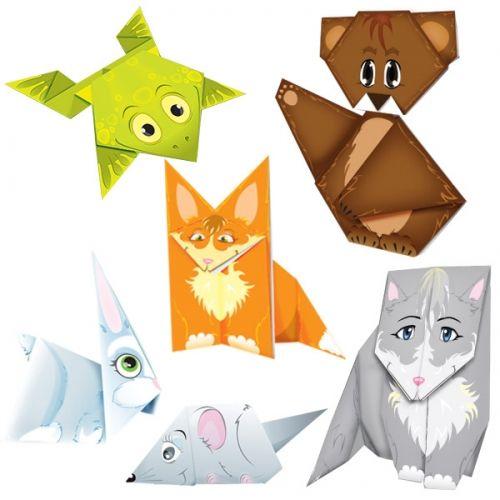 """Игра-оригами """"Теремок"""""""