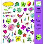 Набор наклеек «День Рождения» 160 шт.