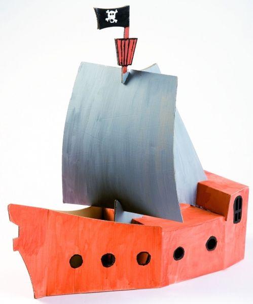 Пиратский корабль малый, без контура