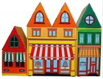 Картонный город: Магазин