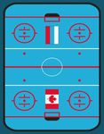 """Игровой ковер """"Хоккей"""" 160х230 см"""
