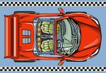 """Игровой ковер """"Sportcar"""" 160х230 см"""