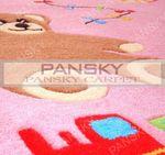 """Детский ковер """"Розовый медвежонок"""""""