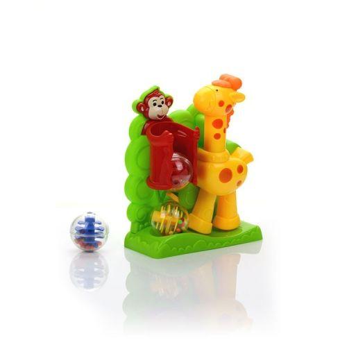 """Развивающая игрушка """"Жираф"""" с шариками"""