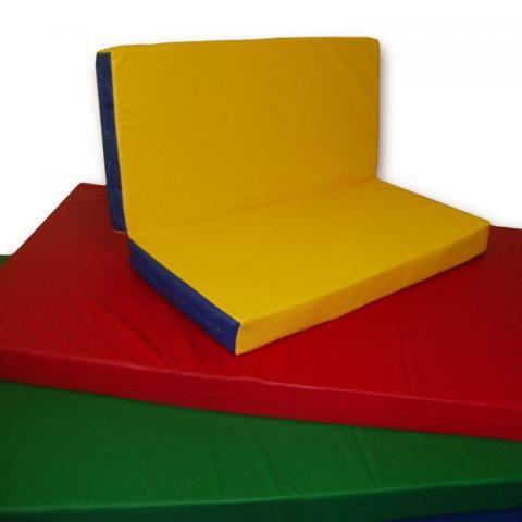 Детский цветной мат 1500х2000х50 мм (складной)