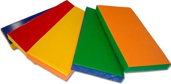 Детский цветной мат 1500х2000х50 мм