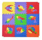 """Коврик-пазл """"Мозаика с рыбами"""", 0,81 м2"""
