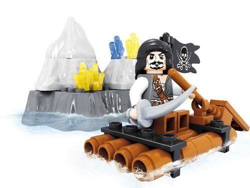 """Конструктор  """"Пираты: Пират на плоту"""", 48 деталей"""