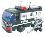"""Конструктор """"Патруль: Полицейский спецназ"""", 127 деталей"""