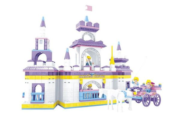 """Конструктор """"Страна чудес: Замок принцессы"""", 614 деталей"""