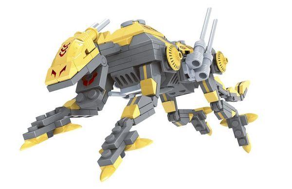 """Конструктор """"Герои: Робот леопард"""", 190 деталей"""
