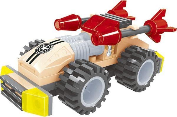 """Конструктор """"Армия: Автомобиль с двумя ракетами"""", 39 деталей"""