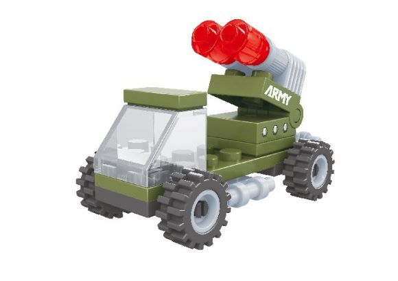 """Конструктор """"Армия: Военный автомобиль """", 25 деталей"""