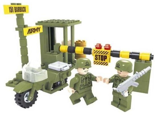"""Конструктор """"Армия: Блокпост"""", 86 деталей"""
