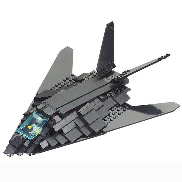 "Конструктор ""Армия: Самолёт-невидимка F-117 "", 259 деталей"