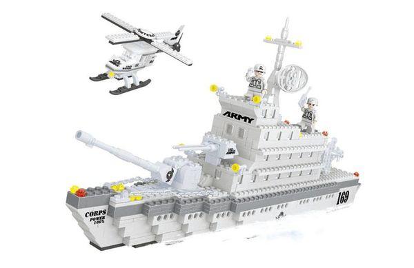 """Конструктор """"Армия: Фрегат"""", 600 деталей"""