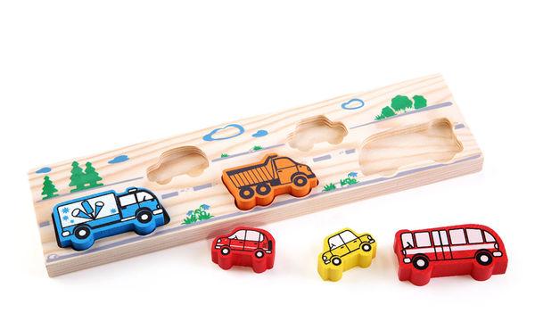 """Рамка-вкладыш для малышей """"Транспорт"""""""