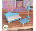 """Кукольный дом для Барби """"Великолепный Особняк""""  с мебелью"""