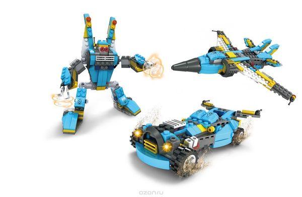 """Конструктор """"Герои: Робот 3 в 1"""", 271 деталь"""