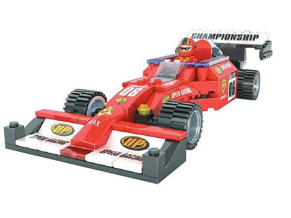 """Конструктор """"Гонка, Формула чемпионов: Автомобиль F1 №06"""", 159 деталей"""