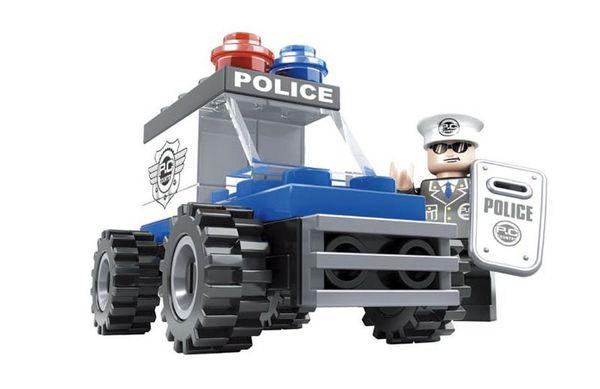 """Конструктор """"Патруль: Полицейский"""", 33 детали"""