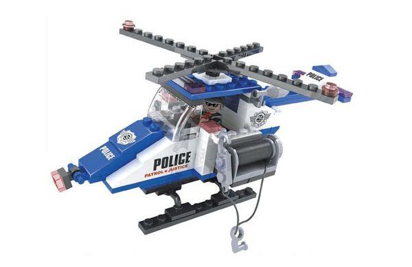"""Конструктор """"Патруль: Спасательный вертолёт"""", 126 деталей"""
