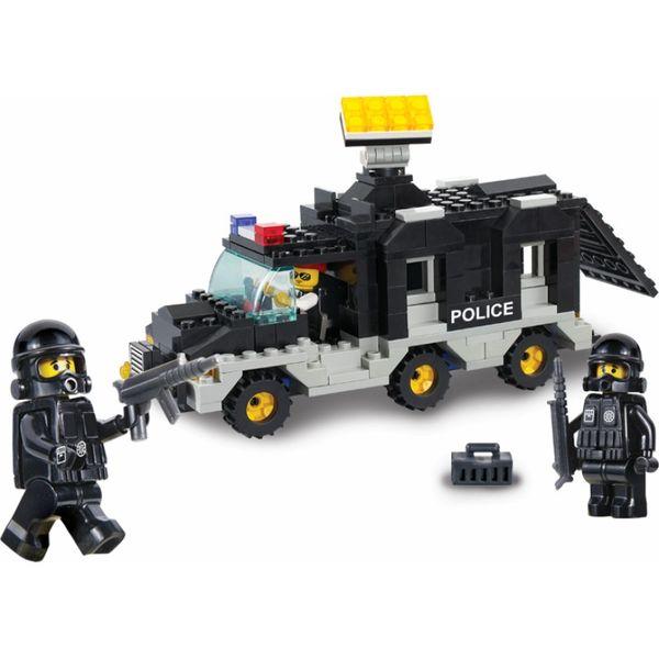 """Конструктор """"Военная полиция: Фургон с прожектором"""", 206 деталей"""