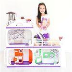 "Коттедж для кукол Барби ""Конфетти"", без мебели"