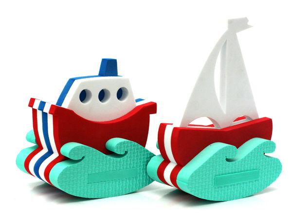 """Игрушка-конструктор для купания """"Корабль и парусник"""""""