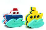 """Игрушка-конструктор для купания """"Корабль и подводная лодка"""""""