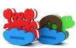 "Игрушка-конструктор для купания ""Краб и черепаха"""
