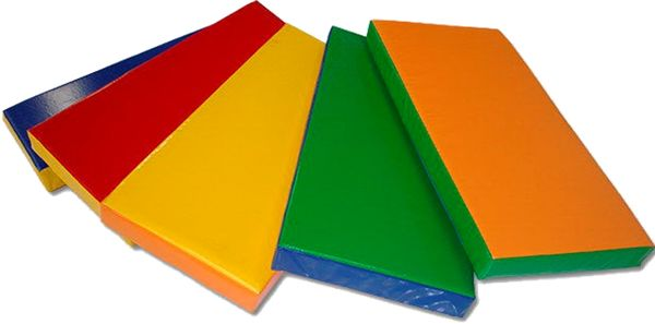 Детский цветной мат 1000х500х100 мм